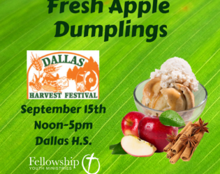 Support Our Youth at the Dallas Harvest Festival!