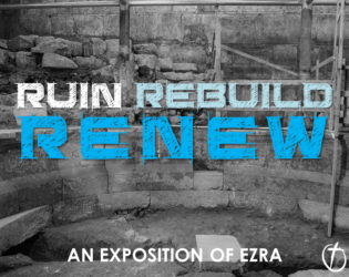 Ruin, Rebuild, Renew