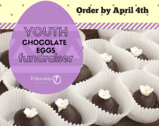 Place Your Orders for Chocolate Eggs!